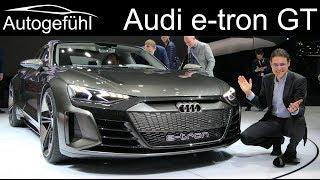 Audi e-tron GT REVIEW all-electric sportscar - Autogefühl
