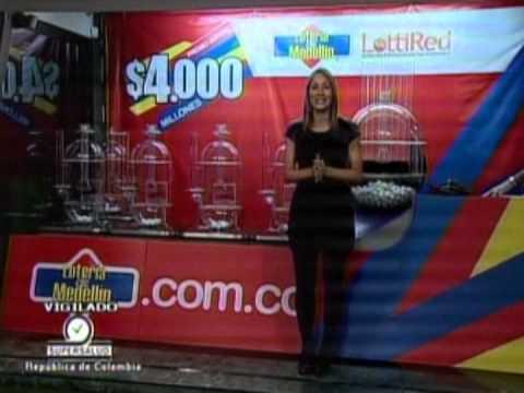 Lotería de Medellín. Sorteo Nº 4107 del 30 de Marzo de 2012.