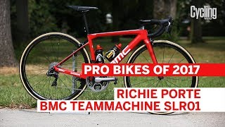 We take a closer look at Richie Porte's BMC Teammachine SLR01  Subscribe to Cycling Weekly here:...