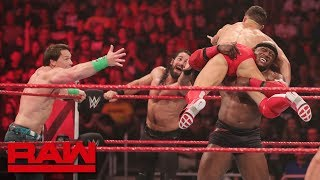 Nonton Cena  Rollins   B  Lor Vs  Ambrose  Mcintyre   Lashley  Raw  Jan  7  2019 Film Subtitle Indonesia Streaming Movie Download