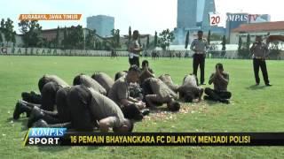 Video 16 Pemain Bhayakara FC Dilantik Jadi Polisi MP3, 3GP, MP4, WEBM, AVI, FLV September 2018