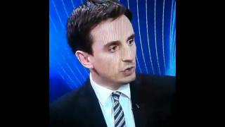 Gary Neville goes nuts on Sky Sports