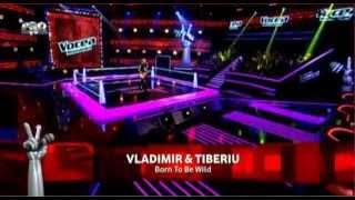 Vladimir Pocorschi vs Tiberiu Albu - Born to be wild (Steppenwolf) - Vocea Romaniei