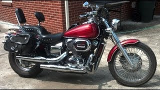 10. How to change oil in a 2003 Honda Shadow Spirit 750.