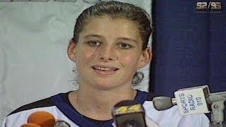 Манон Реом - первая женщина в НХЛ