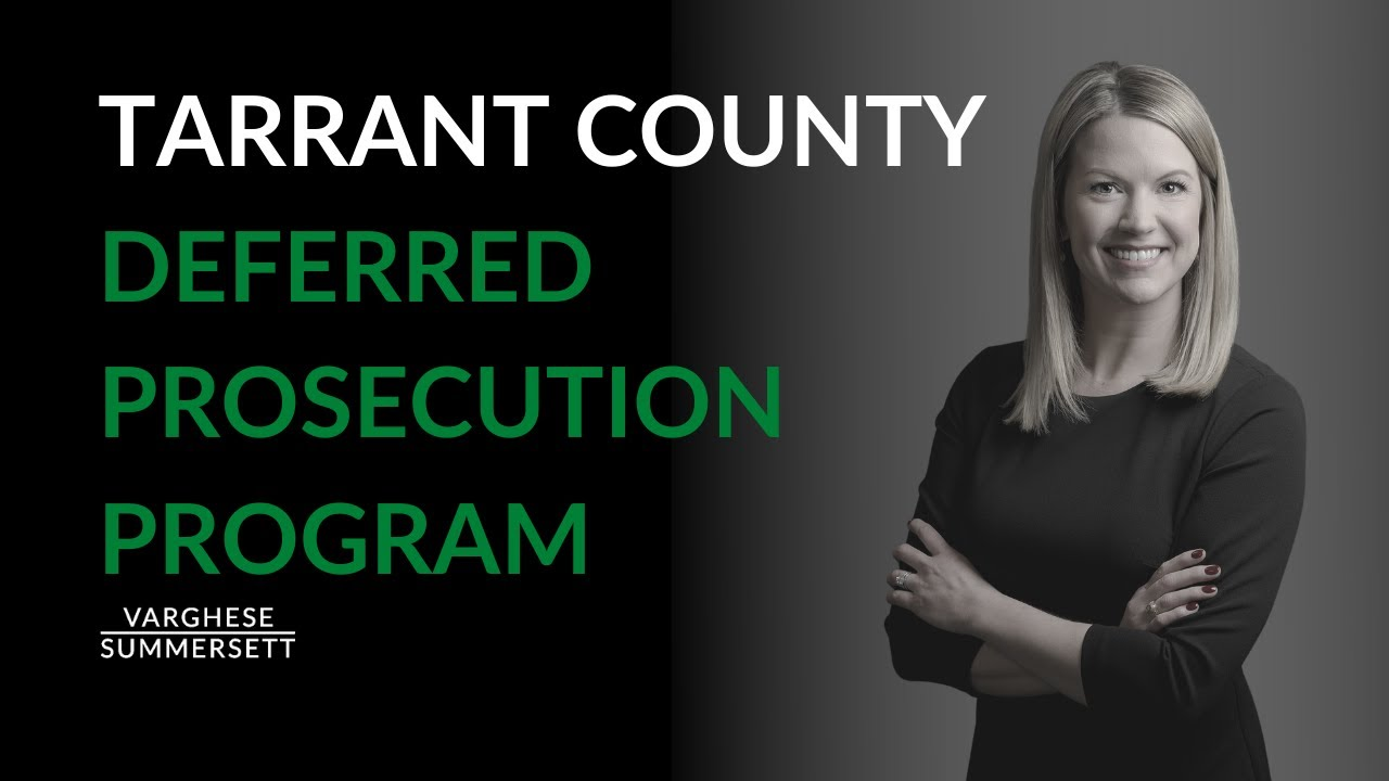 Video: What Is Tarrant County's Deferred Prosecution Program (DPP)?