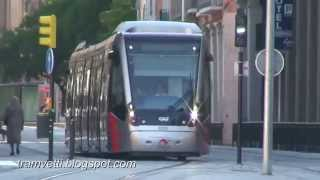 Zaragoza Spain  city pictures gallery : Streetcar Video from Zaragoza, Spain