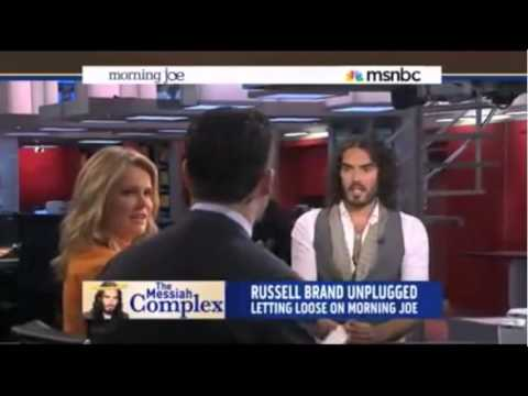 Russell Brand Destroys MSNBC Talk Show Host
