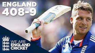 England Hit Record 408-9 In ODI v New Zealand 2015 - Extended Highlights