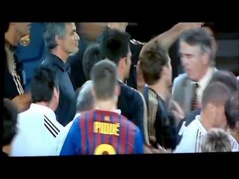 Mourinho vs tito vilanova TW17 (видео)