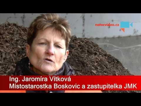 Za čistší životní prostředí. Rozšíření kompostárny v Boskovicích 1. 12. 2015