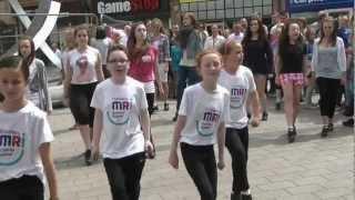 Our Irish Dancing flashmob in Corn Market