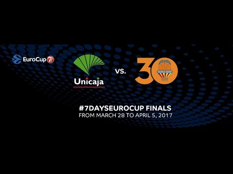 7DAYS EuroCup Finals: Valencia Basket-Unicaja Malaga, Preview