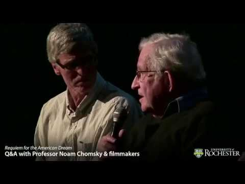 Noam Chomsky & Filmmakers - Q&A for Requiem for the American Dream (4-22-16).mp4