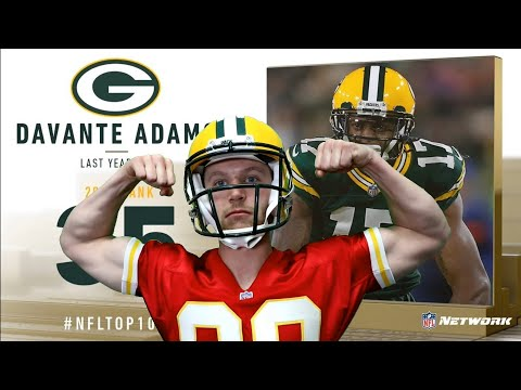 Rugby Player Reacts to DAVANTE ADAMS (WR, Packers) #35 The NFL's Top 100 Players of 2019!