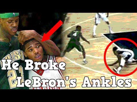 Meet The Only Man To Ever Break LeBron James Ankles