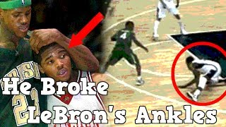 Video Meet The Only Man To Ever Break LeBron James Ankles MP3, 3GP, MP4, WEBM, AVI, FLV Juli 2018