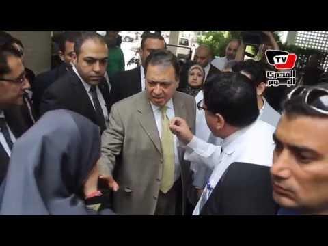 وزير الصحة يفتتح «وحدة زراعة الكبد» بمعهد ناصر وسط شكاوي المرضى