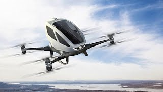 Dubai plans to introduce flying taxi drones; Driverless cab service in Singapore - Compilation