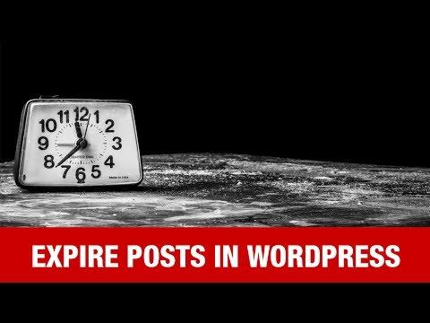 pourquoi la page web expire