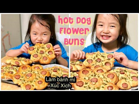 Cách Làm Bánh Mì Hoa XÚC XÍCH ✿ HOT DOG FLOWER BUNS | mattalehang - Thời lượng: 22:29.