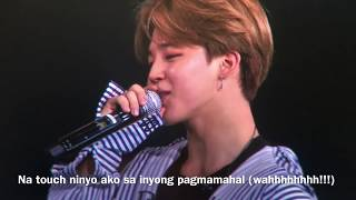 Video BTS Speaking Tagalog Day1 WingsTour Philippines MP3, 3GP, MP4, WEBM, AVI, FLV Maret 2018