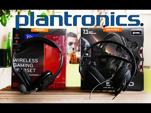 Plantronics RIG 500HD и GAMECOM 818 - Обзор