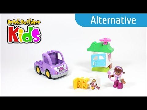 Vidéo LEGO Duplo 10605 : Rosie l'ambulance de Docteur La Peluche