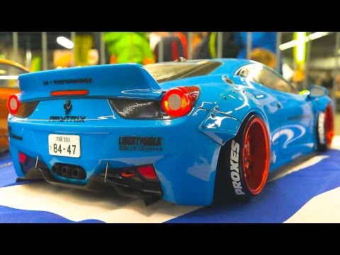 AMAZING RC DRIFT CAR RACE MODELS IN ACTION Fair Erfurt Germany 2017
