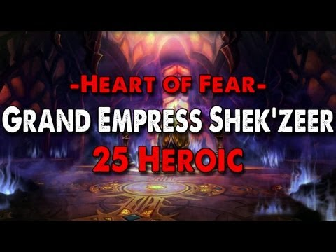 Method vs Grand Empress Shek'zeer (25 Heroic) Video