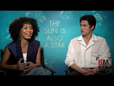 Yara Shahidi & Charles Melton Interview - The Sun Is Also A Star