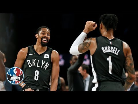 Video: Spencer Dinwiddie's 29, D'Angelo Russell's 25 lead Nets past Magic | NBA Highlights