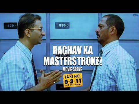 Raghav Ka Masterstroke | Taxi no 9211 | Movie Scene | Nana Patekar, John Abraham