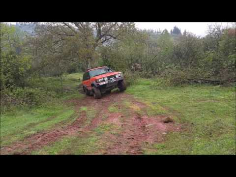 *OFFROAD*  Subaru Forester & Toyota VX100 & Bmw X5 & Range Rover & Land Rover Discovery (видео)