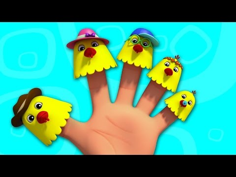 Hennen Finger Familie | Reime für Kinder | Hens Finger Family | Baby Songs | Children Rhymes & Songs