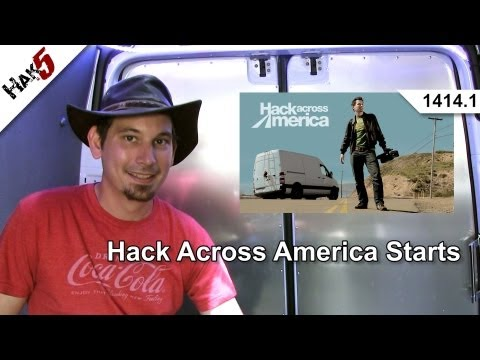 hack - Darren starts Hack Across America with a visit to Edwards Air Force Base. Hak5 1414.1: http://youtu.be/VswP4dquLqk Hak5 1414.2: http://youtu.be/3FheG7bjz3A H...