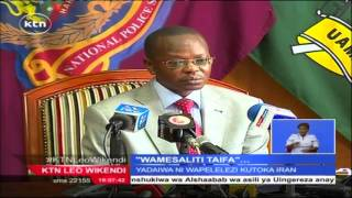 """Polisi wawatia nguvuni raia wawili wa Kenya kwa kuwa """"wapelelezi wa kisiri wa magaidi"""" kutoka Iran"""