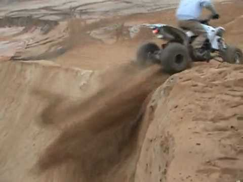 YFZ Riding Step Up and Gap Jump