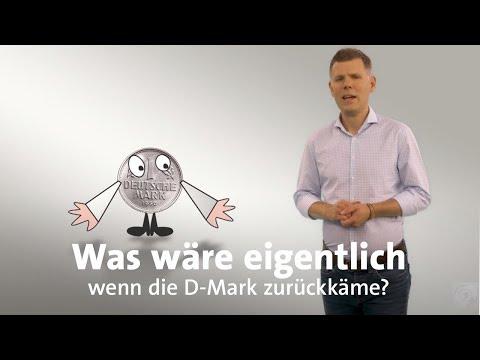 Was wäre eigentlich, wenn die D-Mark zurückkäme?