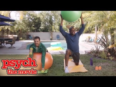 Psych: The Movie | Shawn and Gus Get Back in Shape