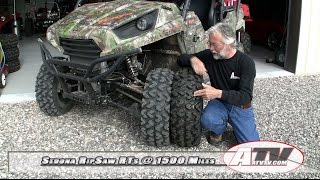 11. ATV Television - Sedona RipSaw RT ATV-UTV Tire at 1500 Miles