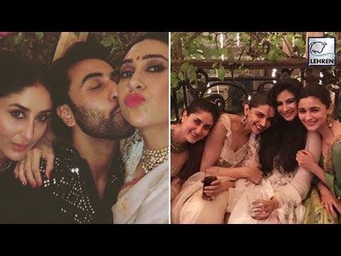 Kareena, Deepika, Alia & Ranbir HAVE FUN At Anil K