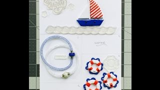 "********Hey, more information down below!!********HI EVERYONE!! I'm feeling really inspired by my Simon Says Stamp kit I showed in the last video and wanted to share with you the lifesaver and sailboat (upcoming) that I made. Just in case you were wondering, yes, I am still having a contest, and I will announce it after I show you my polymer pocket letter because the theme will follow it! Hope you liked this tutorial. I know I'm a little rusty, but I'm trying. Please follow me on Instagram for sneak peeks and more information about the giveaways and contest. Instagram: september3designs Suppies: Red, white, blue, and black polymer clay. Small circle cutter, basic tools, and glaze (I used Triple Thick spray). And if you managed to read all the way to this sentence, give me your guess on what a, ""polymer pocket letter"" is in the description below.. xoxo - Sarah"