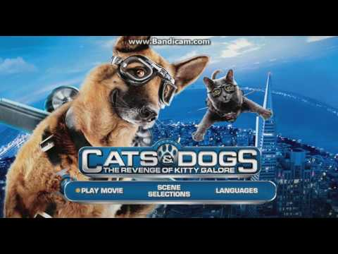 Cats & Dogs II 2011 DVD Menu Walkthrough