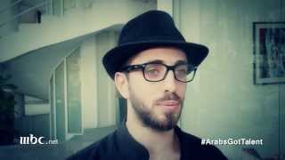 Arabs Got Talent - هكذا طلب دانيل من الجمهور التصويت له - دانيل صايغ