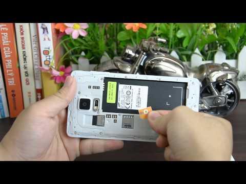 Hướng dẫn tháo lắp sim và thẻ nhớ Samsung Galaxy Note 4 | www.thegioididong.com