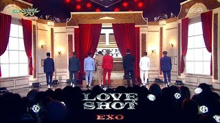 Video EXO (엑소) - Love Shot Stage Mix 무대모음 교차편집 MP3, 3GP, MP4, WEBM, AVI, FLV Januari 2019