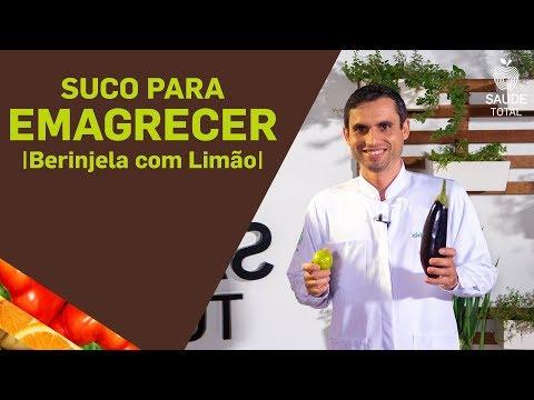 Como fazer Suco para Emagrecer |Berinjela com Limão | Saúde Total