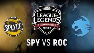 Video SPY vs. ROC  - Week 2 Day 1 | EU LCS Spring Split |  Splyce vs. Team Roccat (2018) MP3, 3GP, MP4, WEBM, AVI, FLV Agustus 2018