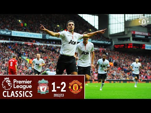 Premier League Classics | Liverpool 1-2 Manchester United | Rafael & Van Persie Seal The Win In 2012